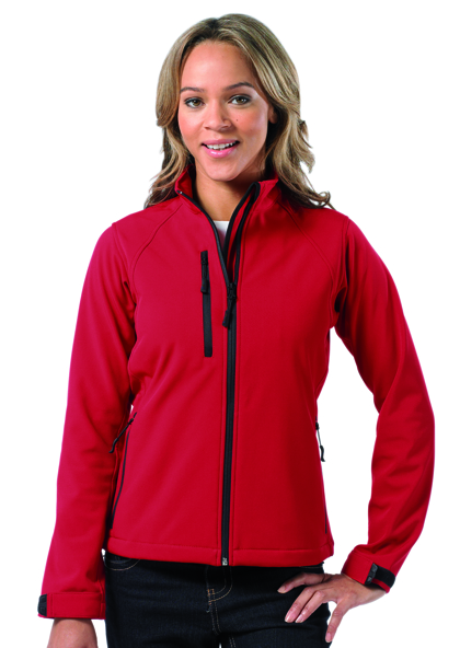 Ladies Soft Shell-Jacket