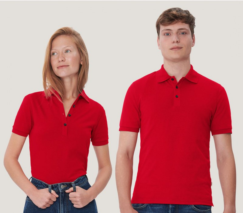 Damen Cotton-Tec Poloshirt
